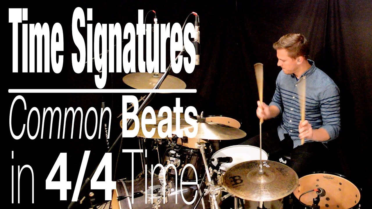 Time Signatures  Common Beats In 4  4