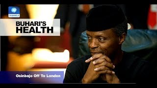 News@10: Osinbajo Travels To London For Meeting With Buhari 11/07/17 Pt.1