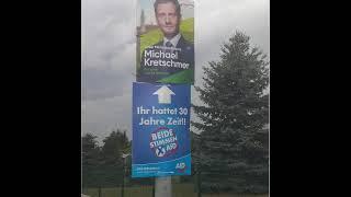 AfD-Plakat der Woche. CDU hatte 20 Jahre Zeit!