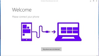 LUMIA - Restaurando o Windows Phone usando o Windows Device Recovery Tool