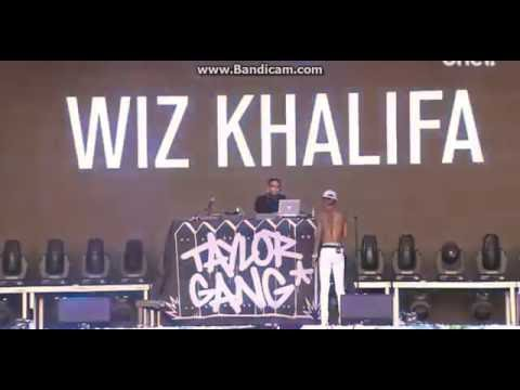 Wiz Khalifa Perform 'Elevated' Open'er Festival 2016