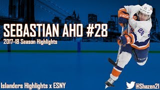 Sebastian Aho 2017-18 Season Highlights