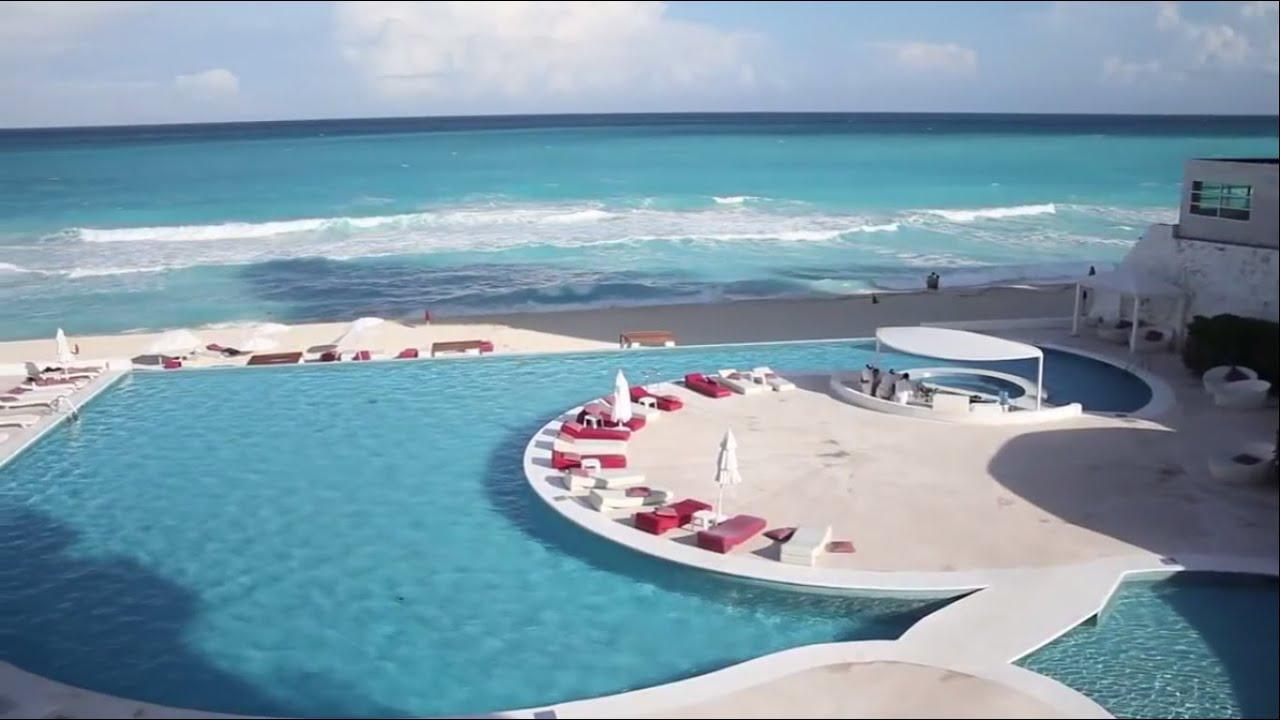 Bel Air Hotel - Cancun México - YouTube