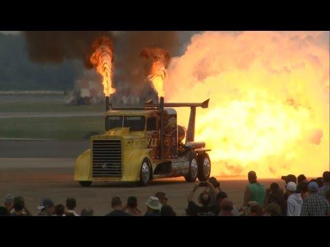 2014 NAS Oceana Airshow - Shockwave Jet Truck