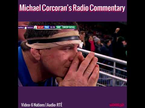 Michael Corcoran's Passionate Radio Commentary With Video