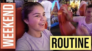 Weekend Afternoon & Night Time Routine | Grace's Room