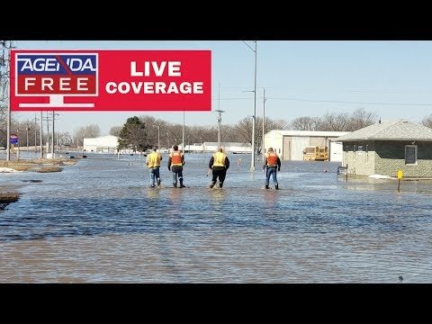 Major Floods in Nebraska - LIVE COVERAGE