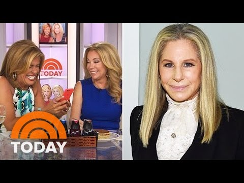 Barbara Streisand Inspires KLG, Hoda To Put Siri To The Pronunciation Test | TODAY