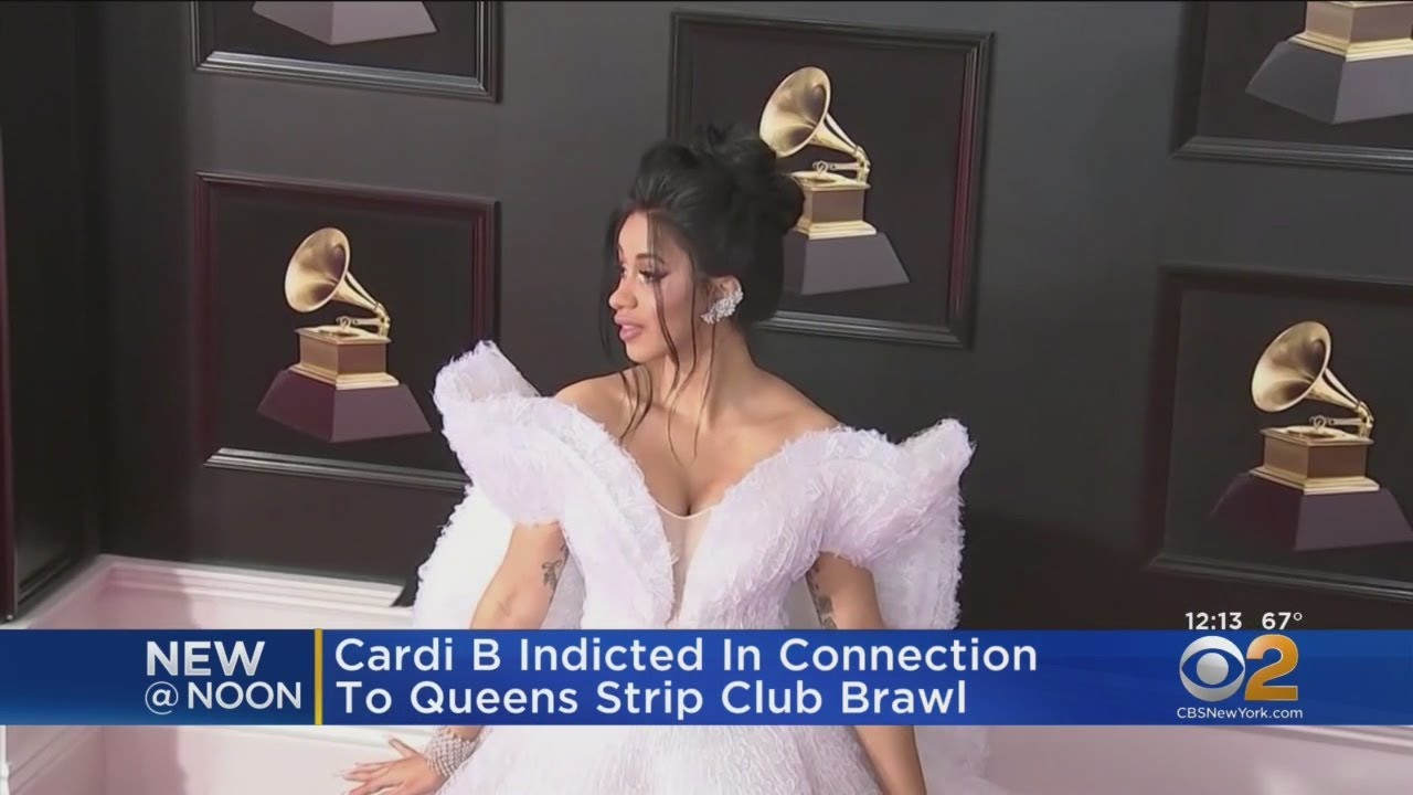 Cardi B Indicted in Strip Club Fight in Queens