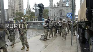 USA: National Guard deployed in Philadelphia ahead of citywide curfew after police shooting unrest