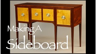 Sideboard Making A Sideboard By Doucette And Wolfe Furniture Makers