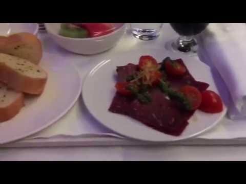 New Business Class On Malaysia AIrlines A330 Syd-Kul