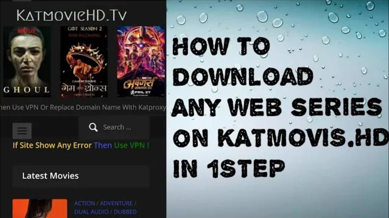 how to download movies and series from katmovies.hd | #1
