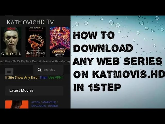 how to download movies and series from katmovies hd