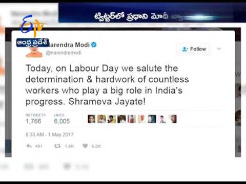 International Labour Day |PM Modi salutes Indian workers