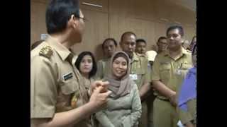 17 Okt 2012 Wagub Sillaturahmi dengan Karyawan dan Staff Pemprov DKI Jakarta - Part 1/3