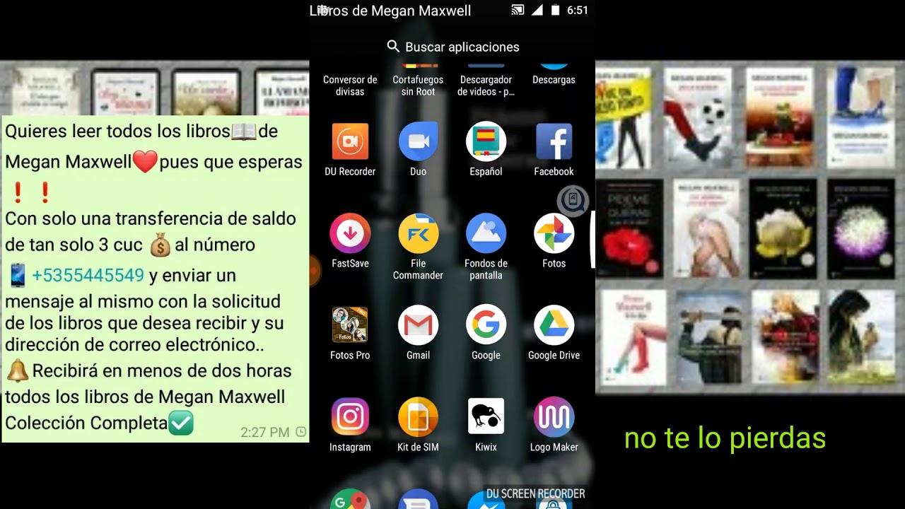 Libros Gratis De Megan Maxwell Colección Completa 2018 - YouTube  @tataya.com.mx