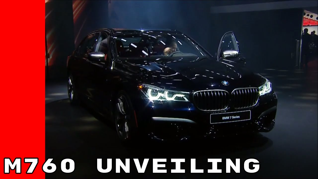 2018 BMW M760 7 Series Unveiling At Detroit Auto Show ...