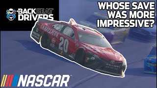 Blaney vs. Bell, Who had the All-Star Race's best save?   Cole Pearn joins NASCAR's Backseat Drivers