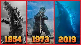 Evolution of Godzilla Roars (1954-2019)