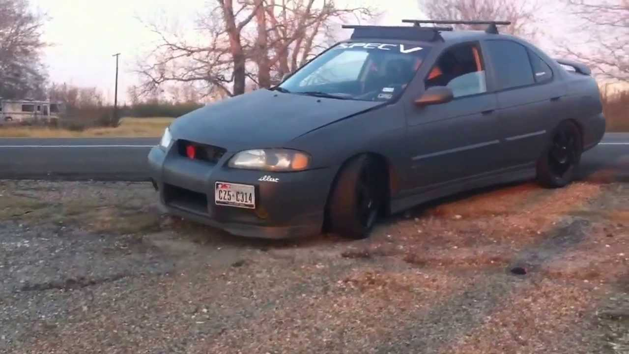 2002 Nissan Sentra Se R Spec V Exhaust Sound Clip Youtube