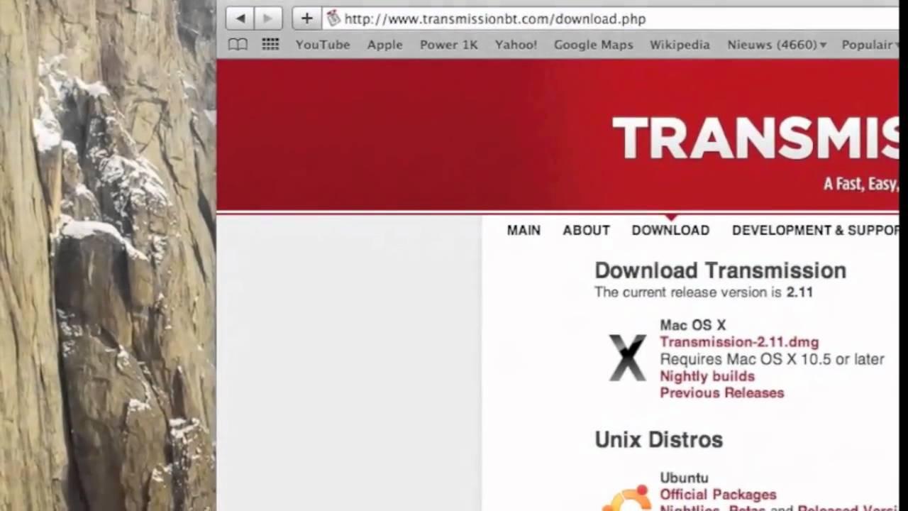 transmission torrent dmg