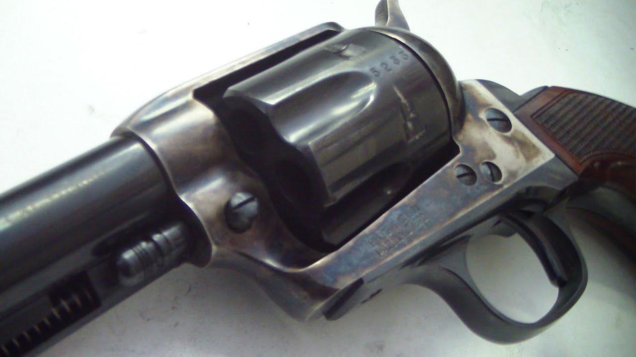 Uberti El Patron 357 magnum (HD close up) BATJAC J W