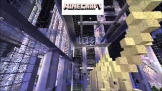 A Minecraft city