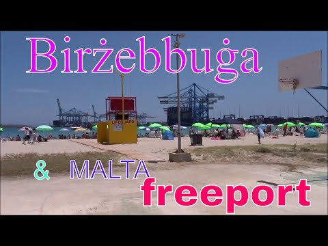 Birżebbuġa and freeport , MALTA