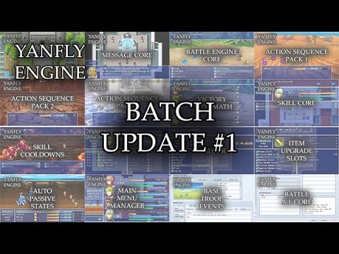 Yanfly Engine Plugins - Batch Update #1 - RPG Maker MV ...