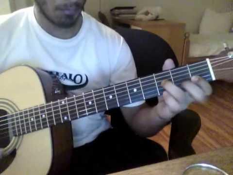 Otis Taylor - Ten Million Slaves riff acoutic cover