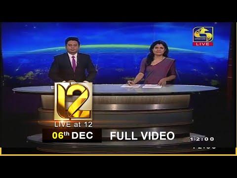 Live at 12 News – 2020.12.06
