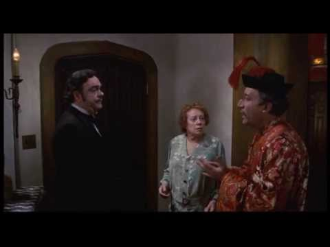 'Murder by Death' with Elsa Lanchester, Peter Sellers, David Niven and Maggie Smith