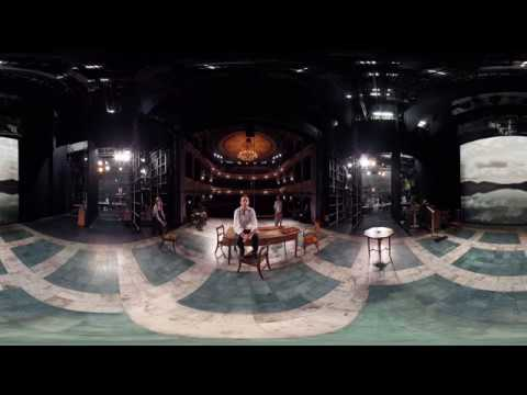 Inside The Old Vic Auditorium with Matthew Warchus