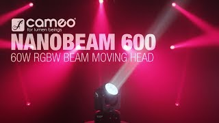 Cameo NANOBEAM 600 - 60 W RGBW Beam Moving Head