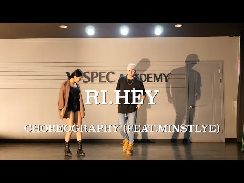 RI.HEY CHOREOGRAPHY FEAT.MINSTYLE | Talking to myself by Gallant