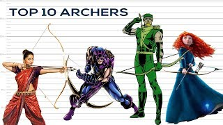 Top 10 Archers of All time