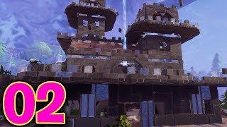 Building Mega Castles! Fortnite Save The World! Part 2