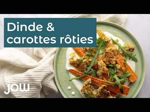 recette-de-dinde-&-carottes-rôties