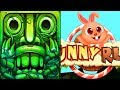 Temple Run 2 Lost Jungle VS Bunny Run Android iPad iOS Gameplay HD