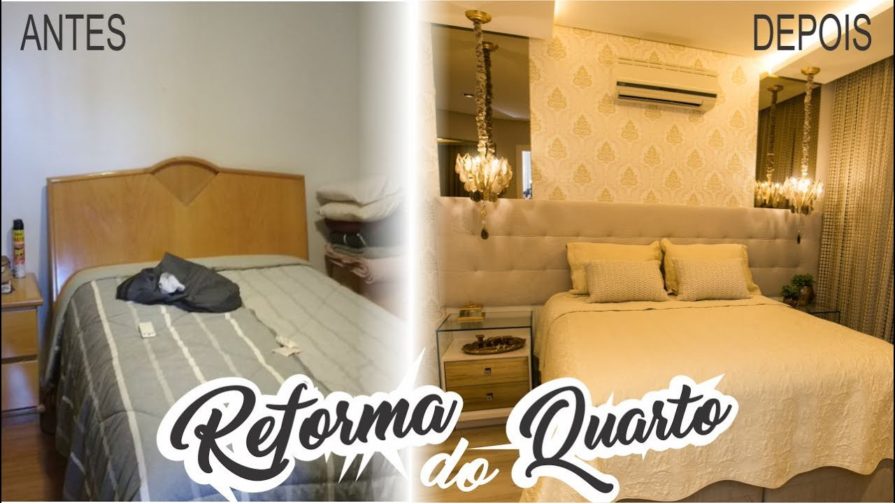 Reforma De Quarto ~ Reforma do Quarto Antes e Depois Arquiteta Janaina Fabiani YouTube