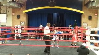Kesean Bagwell Red Headgear vs Lawrence Malcolm