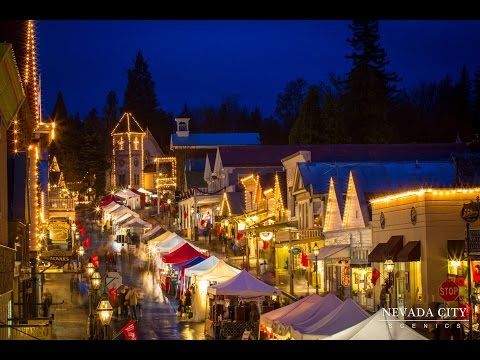 Victorian Christmas, downtown Nevada City, CA Dec. 2015