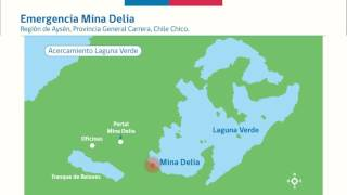 Infografía: Emergencia en Mina Delia II