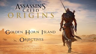Faiyum Objectives - Golden Horn Island - Assassin's Creed Origins