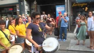 drummers in kensington market @ pedestrian sundays