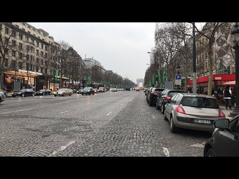 Walk down the Champs Elysées with Euro Maestro - Virtual tour of Paris
