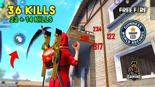World Record? 36 Kills in Duo vs Squad Must Watch Gameplay - Garena Free Fire