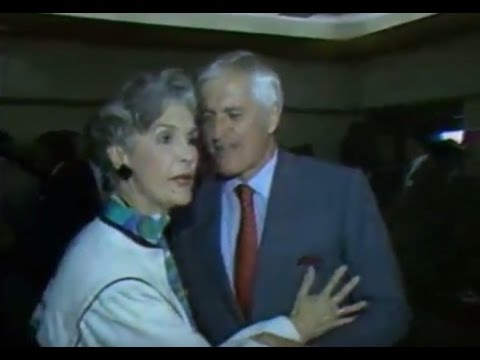(1984) PM John Turner Caught Patting Iona Campagnolo Butt (Liberal Party President)