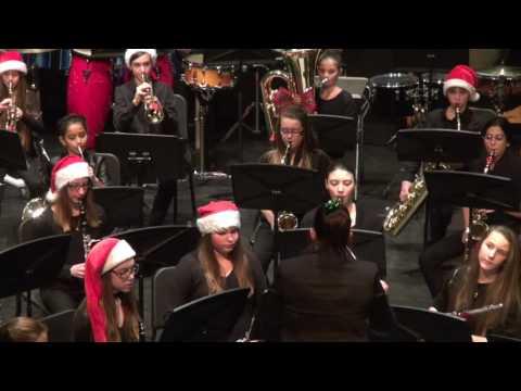 Concert Orchestre à Vents de 1ère secondaire 2016 12 21 - Carol of the Bells